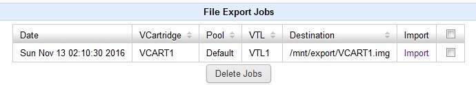 File Export Jobs